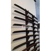 KIMU Collections: Black Shadow Bokken (Pedang Kayu) Bengkirai Hitam