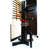 Jual  KIMU Black Scorpion Wooden Dummy Atau Mok Yan Jong