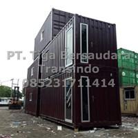 Jual Box Container Office Tiga Lantai