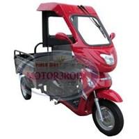 Sepeda Motor Roda Tiga Tossa Pico 110 Cc + Cabin Pengemudi