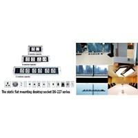 Desktop Socket - Table Top Socket - Furniture Socket - Stop Kontak Meja - Power Outlet Socket  Murah 5