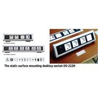 Beli Desktop Socket - Table Top Socket - Furniture Socket - Stop Kontak Meja - Power Outlet Socket  4
