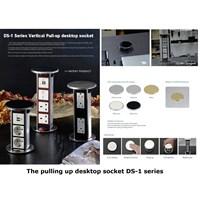 Jual Desktop Socket - Table Top Socket - Furniture Socket - Stop Kontak Meja - Power Outlet Socket  2