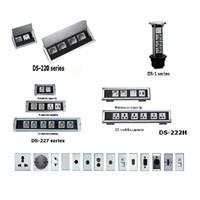 Desktop Socket - Table Top Socket - Furniture Socket - Stop Kontak Meja - Power Outlet Socket  1
