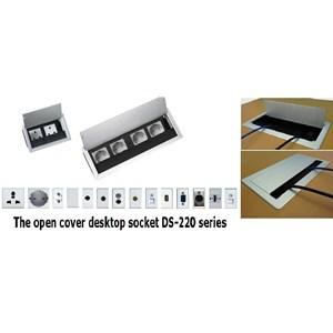 Dari Desktop Socket - Table Top Socket - Furniture Socket - Stop Kontak Meja - Power Outlet Socket  2