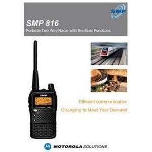 Radio Komunikasi Handy Talky Motorola Shanghai Smp 816
