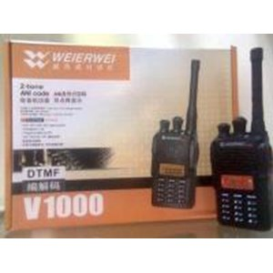 Radio Komunikasi Ht Weierwei V-1000