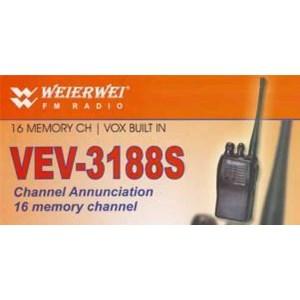 Radio Komunikasi Ht Weierwei Vev-3188S
