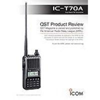 Radio Komunikasi Ht Icom Ic-T70a Dual Band Fm Transceiver 1