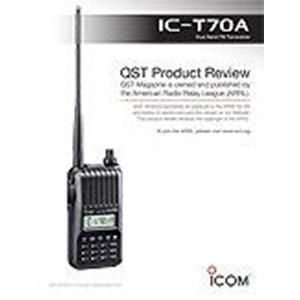 Radio Komunikasi Ht Icom Ic-T70a Dual Band Fm Transceiver