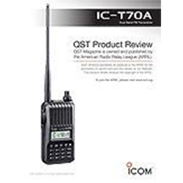 Sell Icom Ic-T70a Ht Dual Band Fm Transceiver