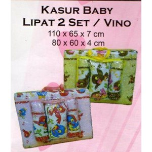 Kasur Bayi Lipat 2 Set Vino1
