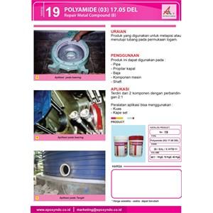Dari Jasa/Distributor/Supplier POLYAMIDE (03) 17.05 DEL - Repair Metal Compound (B) | katalog 19 1