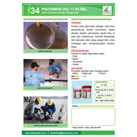 Jual Katalog 34 Joint Cement Lining Compound Polyamide(03) 17.05 Del Kimia Industri 2