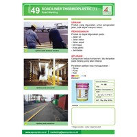 Distributor Katalog 49 Road Marking Thermoplastic Kimia Industri Digunakan Untuk Pengecatan Jalan 3