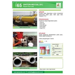 Dari Jasa/Distributor/Supplier Penambal pipa besi,pvc dan pipa lainnya   DHITON MIX EAL (01) - Repair Pipe Leak   Katalog 65 1