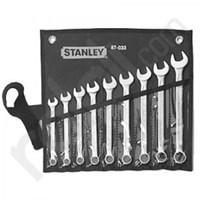 STANLEY 87-033-1-22 Wrench Set Comb Sl 9Pc Met