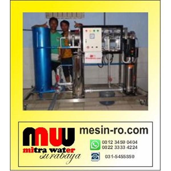 Mesin RO 10000 Gpd  cuci membran
