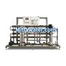 The machine has a capacity of 8000 Gpd Ro 24,000 liters Per Day (24 hours)