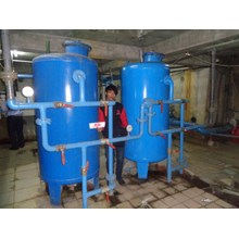 SAND FILTER and CARBON FILTER CAPACITY of 20 M3 PE