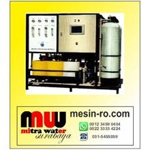 Mesin pengolahan air laut menjadi air tawar kapasi