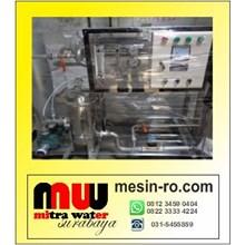 Mesin penyaring  Air Payau Menjadi Air Tawar. Hub