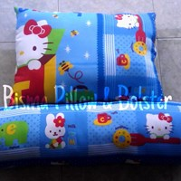 Bantal Guling HK Blue 1