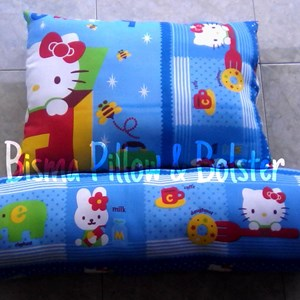 Bantal Guling HK Blue