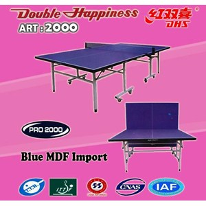Table Tennis Ping Pong DOUBLE HAPPINESS ART 2000