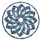 Decor Mosaic Type Blue Lotus 1