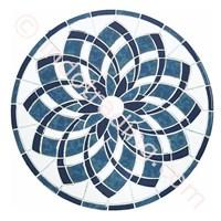Mosaic Dekor Tipe Blue Lotus