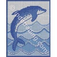 Mosaic Dekoratif Tipe Dolpin L/R 1