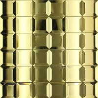 MOSAIC VENUS TIPR MIRROR -GOLD