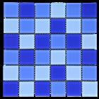 VENUS TIPE CASCARA MAXI BLUE 1
