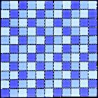 Keramik Kamar Mandi CASCARA DARK BLUE 1