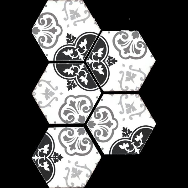 VENUS TIPE BATIK HEXSAGON Keramik Dinding