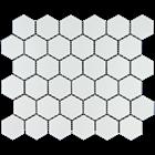 Keramik Dapur  hexagonal Pottery maxi white 1