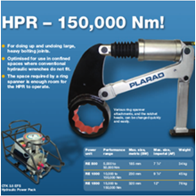 Hydraulic Torque Wrenches HPR