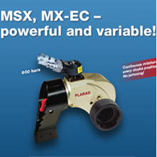Hydraulic Torque Wrenches MSX