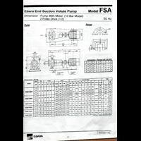 Jual Pompa Air Ebara 65X50 Fsha 2