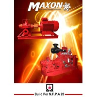 Hydrant Electric Pump NFPA 20 Maxon