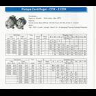 Pompa Centrifugal CDX 2 CDX 2