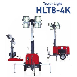 Mesin Aspal Light Tower  Lampur Sorot HOPPT HLT8-4K