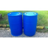 Jual DRUM PLASTIK 200 L DOUBLE RING