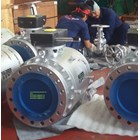 Ball Valve Carbon Steel A216 WCB Type Trunion  5
