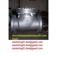 Jual  Check Valve Swing A216 WCB Carbon Steel 2