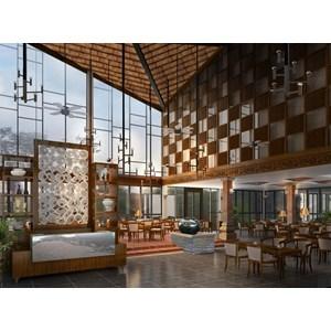 Design Interior Restaurant bebek bengil d