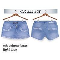 Jual Rok Celana Jeans CK 555 302 (size 27-30)