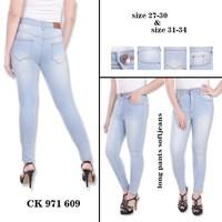 Jual Celana Highwaist Jeans CK 971 609 ( Size 31-34)