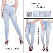 Celana Highwaist Jeans CK 971 609 ( Size 31-34)